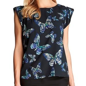 CeCe by Cynthia Steffe Butterfly Blouse